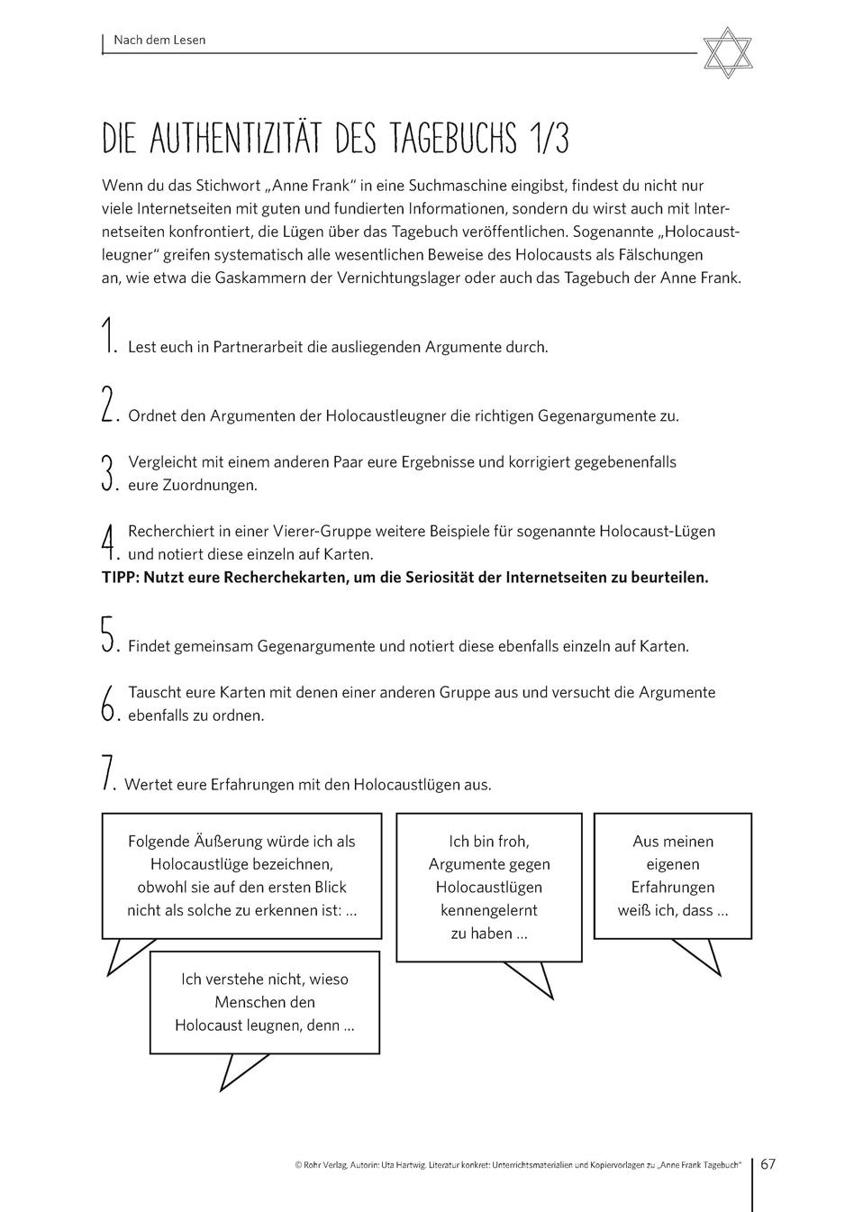 Literatur konkret: Unterrichtsmaterialien und Kopiervorlagen zu ...